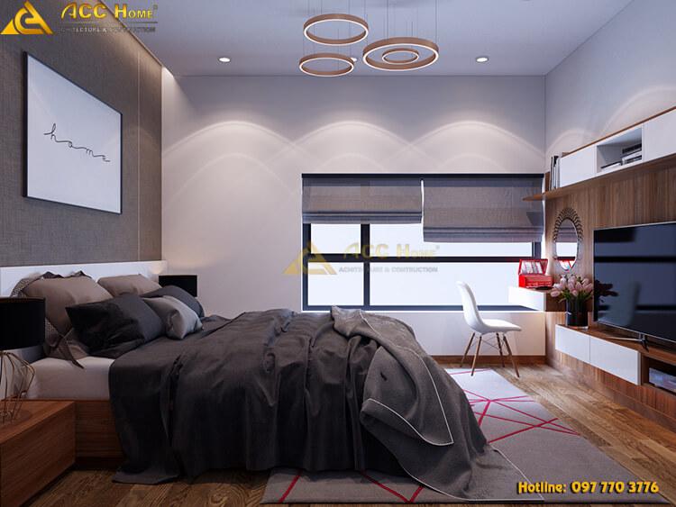 thiết kế phòng ngủ cho ba mẹ