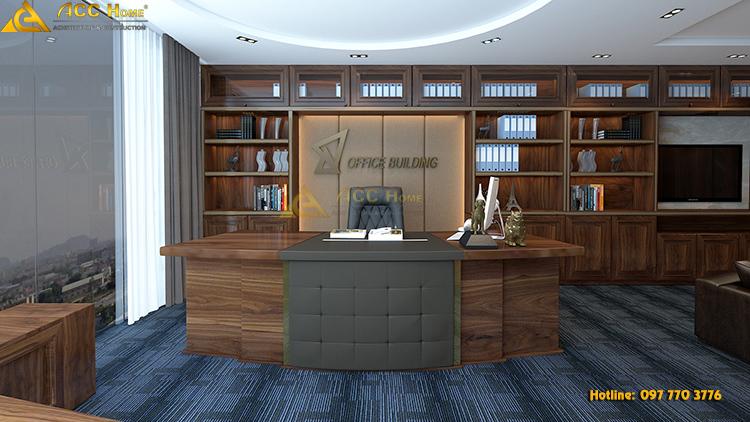 văn phòng thiết kế theo phong thủy