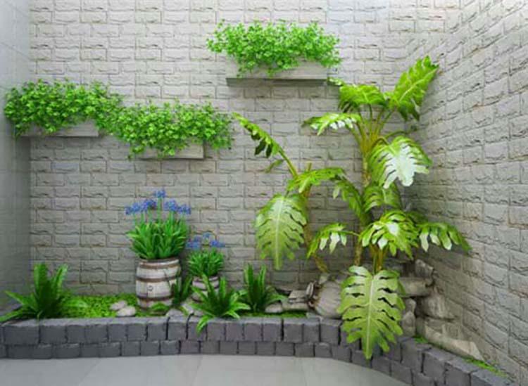 Phong cáchthiết kế tiểu cảnh sân vườn