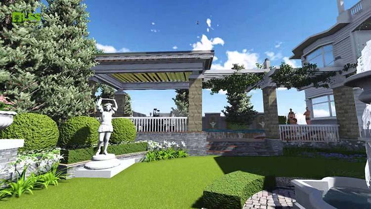 Đồ trang trí sân vườn theo