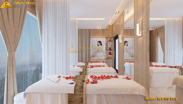 thiết kế nội thất phòng spa chuyên nghiệp