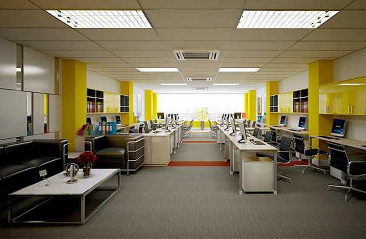bố trí sắp xếp văn phòng hiện đại