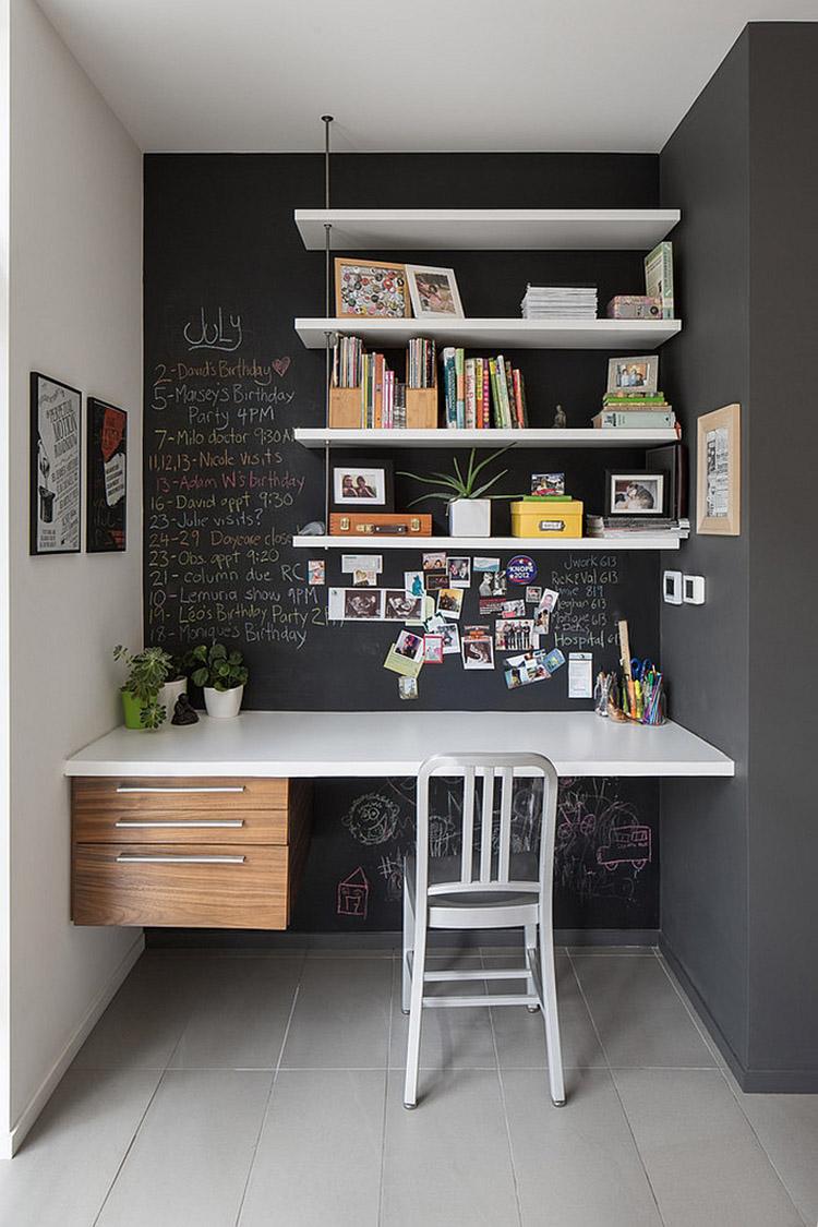 tăng diện tích văn phòng với nội thất nhỏ