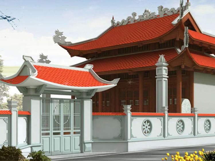 mẫu nhà thờ tổ phổ biến ở Việt Nam