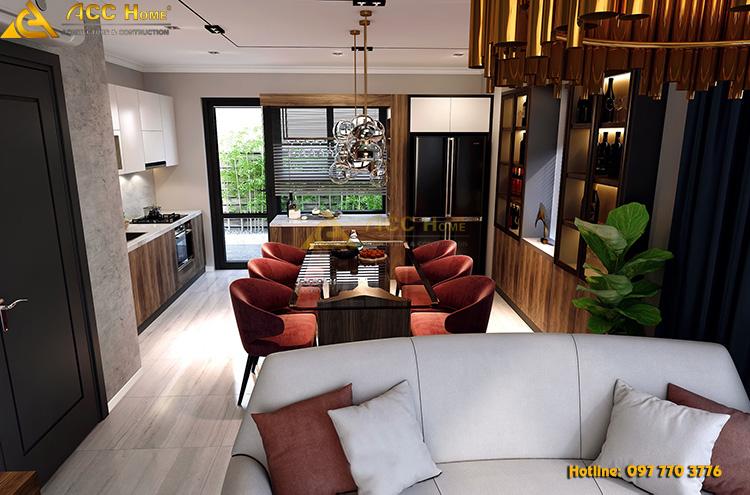 Thiết kế nội thất thống nhất