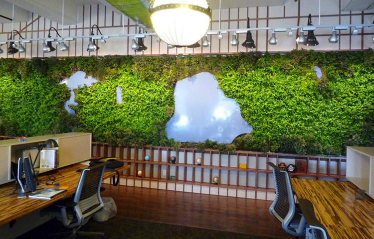 không gian văn phòng tự nhiên