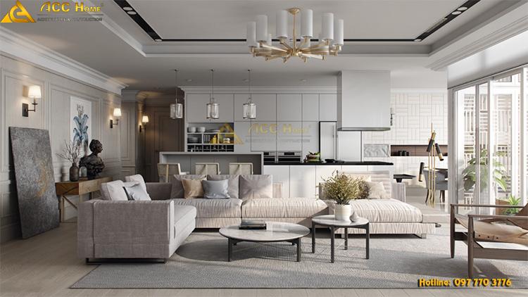 Lựa chọn nội thất đơn giản nhưng thể hiện nét tinh tế