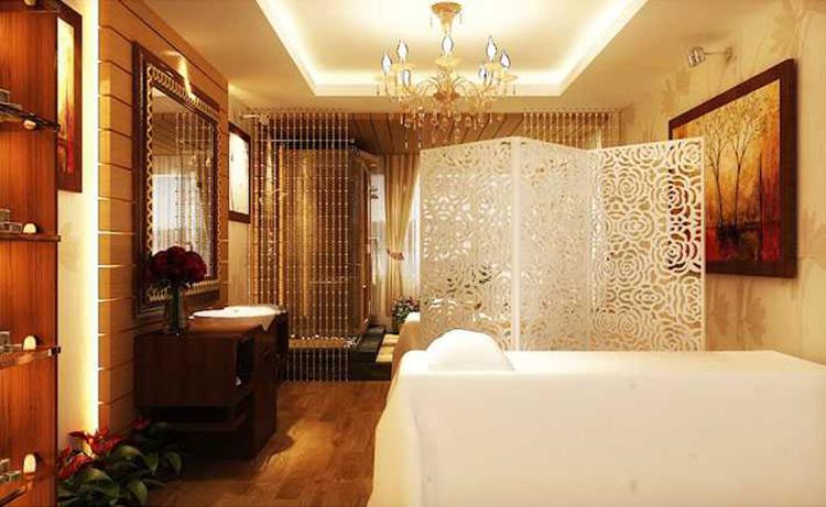 spa phong cách Futuristic