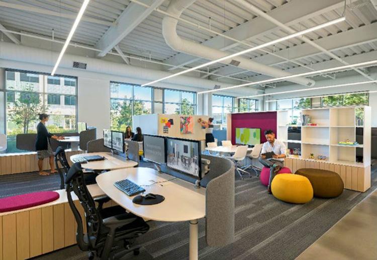 ý tưởng thiết kế văn phòng độc lập