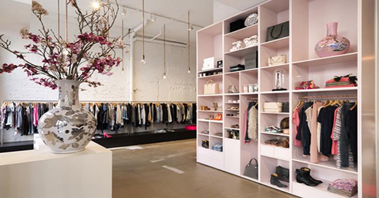 Cách thiết kế nội thất shop thời trang