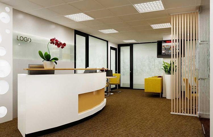 Thiết kế văn phòng giao dịch