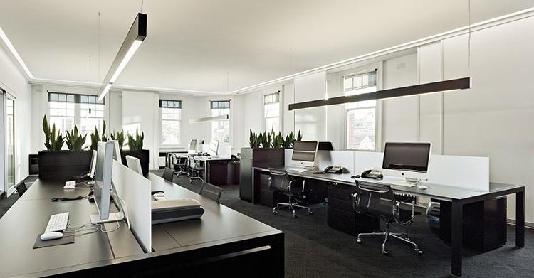 đơn vị thiết kế nội thất văn phòng