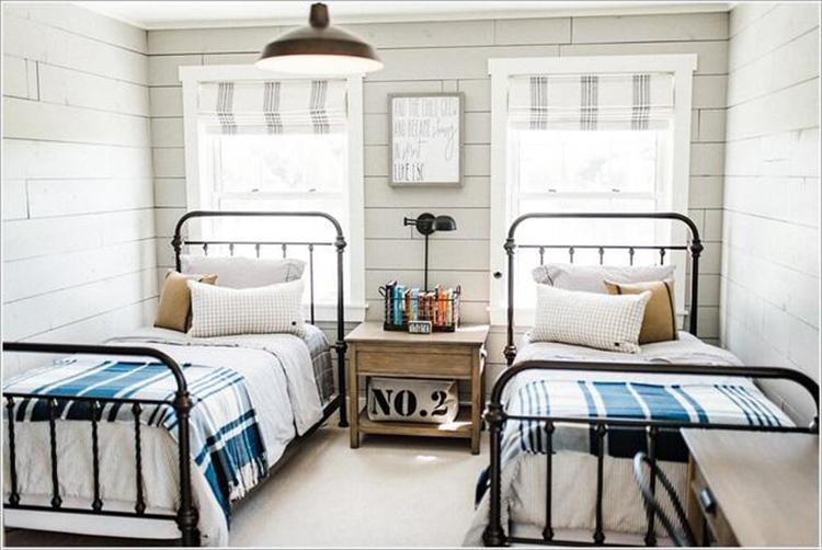 Thiết kế phòng ngủ cho 2 anh em trai