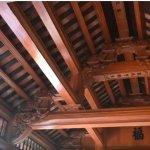 nhà thờ bê tông giả gỗ