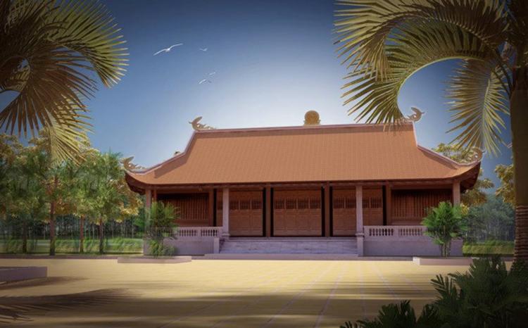 mẫu nhà thờ xây bằng bê tông