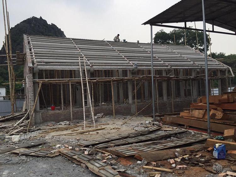 Vật liệu sử dụng xây dựng nhà thờ