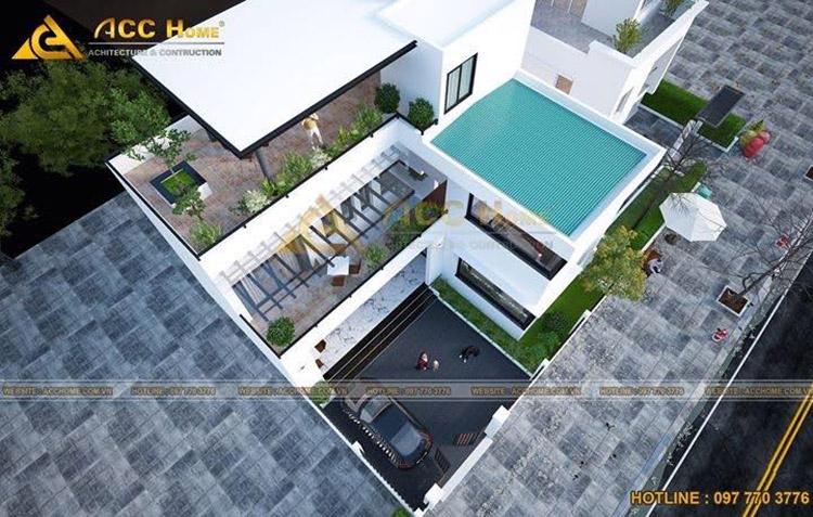 Thiết kế phần mái nhà