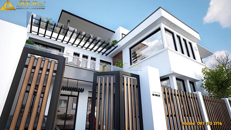 Thiết kế phần thân nhà