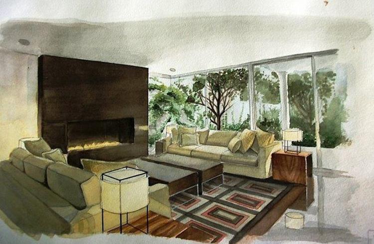 Concept nội thất phòng khách