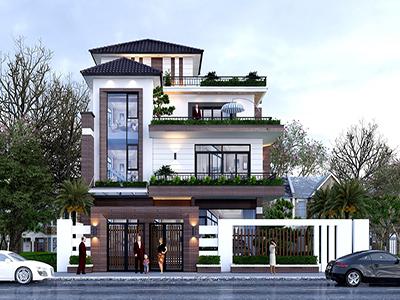 thiết kế biệt thự Thái