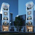 Thiết kế nhà phố 5 tầng kết hợp kinh doanh
