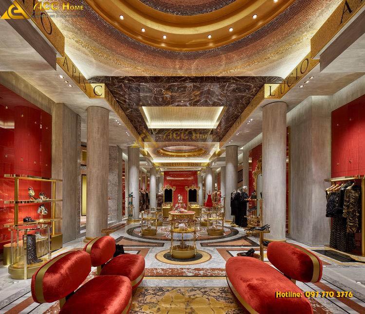 Shop thời trang đậm chất quý tộc