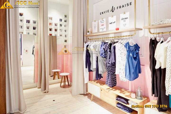 mặt tiền shop quần áo
