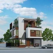 thiết kế biệt thự hiện đại Xuân Phương Villa