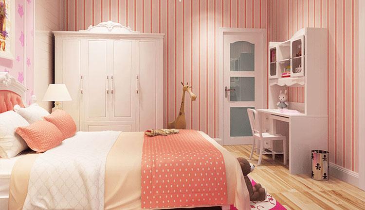Trang trí phòng ngủ chobé gái