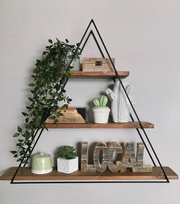 Kệ tường hình tam giác