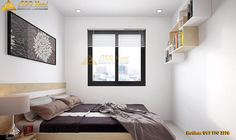 thiết kế không gian phòng ngủ