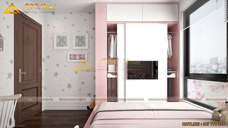 mẫu phòng ngủ con gái
