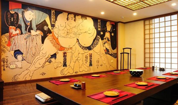 Nhà hàng kiểu Nhật phong cách Zen