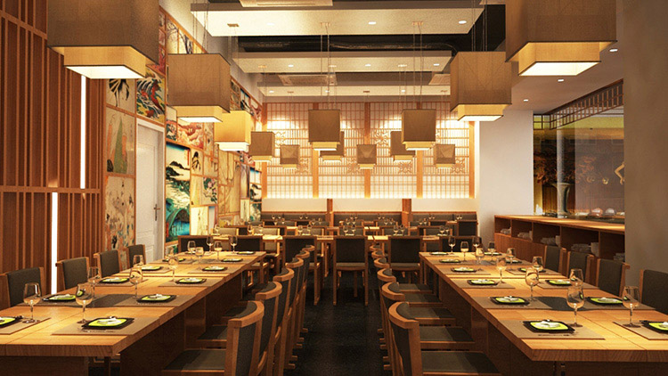 Nhà hàng phong cách Nhật
