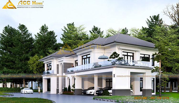 Thiết kế ban công nhà mái Nhật