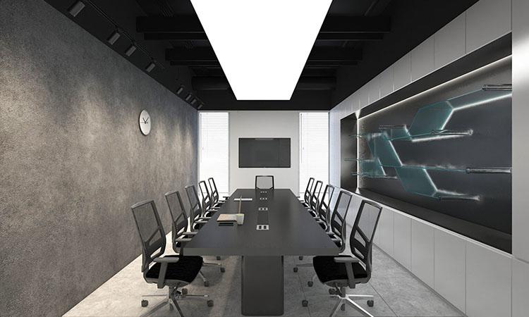Bản thiết kế office hiện đại dưới 100m2