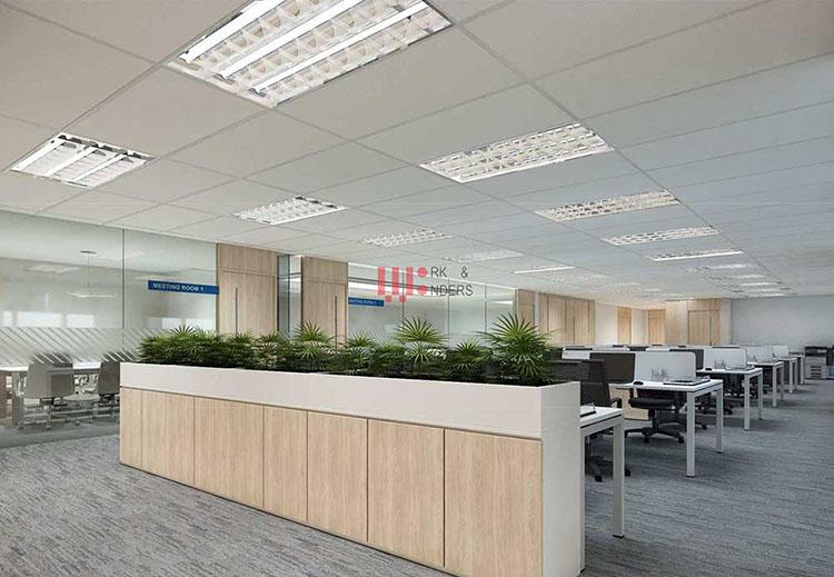 Những vật liệu chính làm văn phòng hiện đại