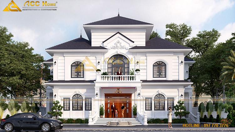 Tone màu chính của căn nhà