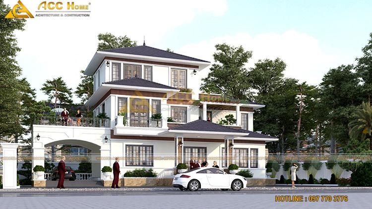 Yêu cầu của chủ đầu tư thiết kế nhà 3 tầng