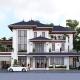 Mẫu nhà mái Nhật 20x12m