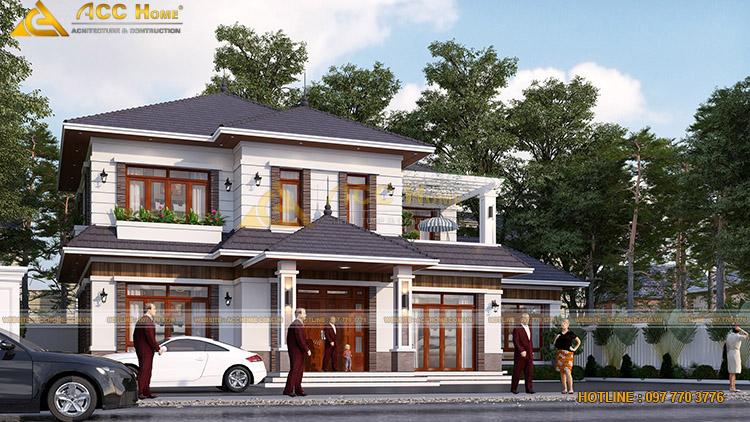 Ý tưởng thiết kế nhà trên lô đất 17mx10m